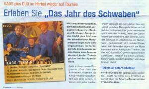 KAOS-Plus-DUO  Herbst-Tournee