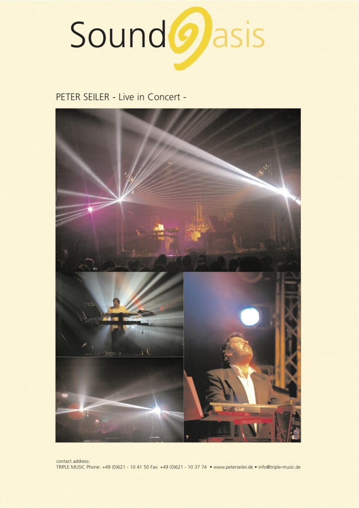 Peter Seiler SoundOasis Concertoncert